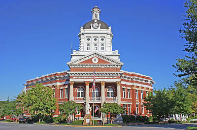 Photograph - Morgan County Georgia Courthouse by HH Photography of Florida