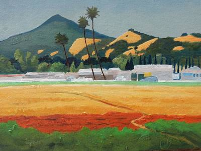Painting - Morgan Hill Icon by Gary Coleman