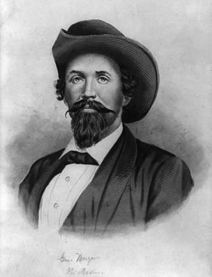 Photograph - Morgan, John Hunt,--1825-1864 by Robert Rhoads