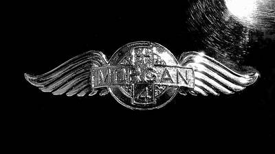 Photograph - Morgan Nameplate by Newel Hunter