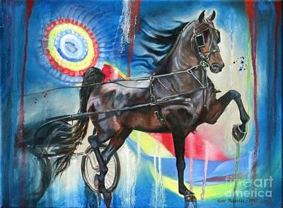 Painting - Morgan Pride by Heidi Parmelee-Pratt