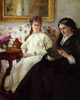 Berthe Digital Art - Morisot Berthe Mother And Sister Of The Artist by Berthe Morisot