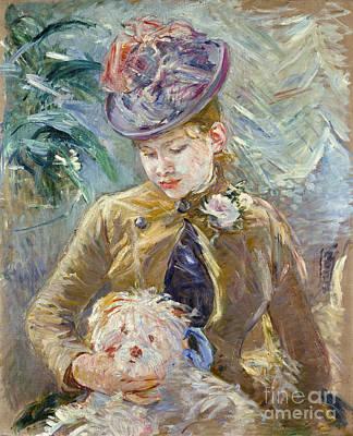 Berthe Photograph - Morisot: Paule Gobillard by Granger