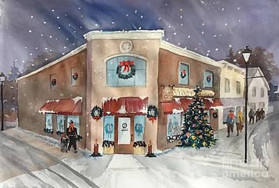 Morkes Christmas 2017 Art Print