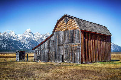 Photograph - Morman Row Barn by Paul Freidlund