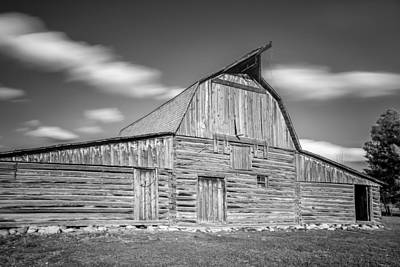 Photograph - Mormon Barn by Jon Glaser