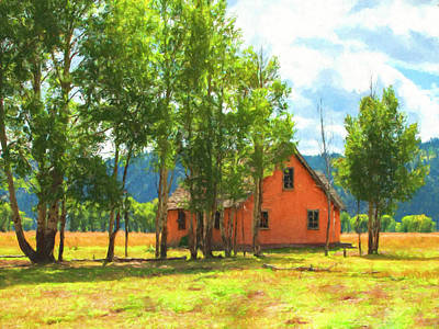 Painting - Mormon Homestead by Sandra Selle Rodriguez