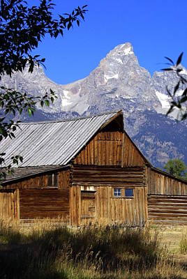 Mormon Row Barn  1 Art Print