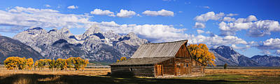 Photograph - Mormon Row Barn Panorama by Vishwanath Bhat