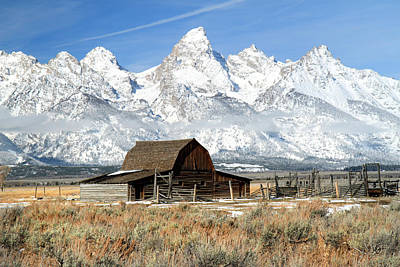 Photograph - Mormon Row Barn by Pierre Leclerc Photography