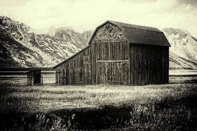 Photograph - Mormon Row Barn by Sandra Selle Rodriguez