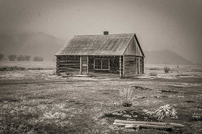 Rd Photograph - Mormon Row Grand Teton National Park  by Scott McGuire