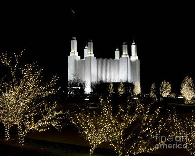 Mormon Temple 2 Art Print