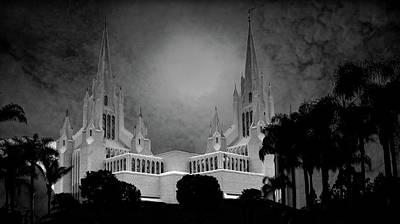 Photograph - Mormon Temple by Joseph Hollingsworth