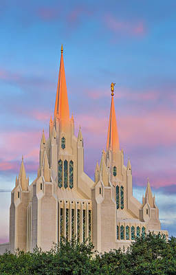 Photograph - Mormon Temple by Peter Tellone