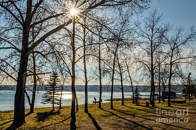 Saskatchewan Photograph - Morning On The Lake by Viktor Birkus