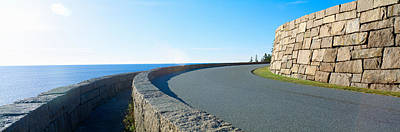 Maine Roads Photograph - Morning, Acadia National Park, Maine by Panoramic Images