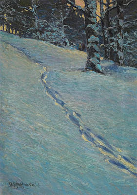 Painting - Morning After Snow, High Park by James Edward Hervey MacDonald