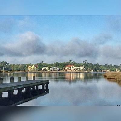 Reflection Wall Art - Photograph - Morning Along The Bayou #enlight by Joan McCool