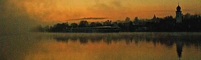 Photograph - Morning Along The Danube by Jerry Kalman