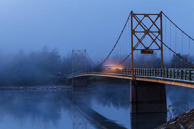 Photograph - Morning At Beaver Bridge by Steven Bateson