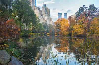 Photograph - Morning At Central Park - Manhattan by Jacki Soikis