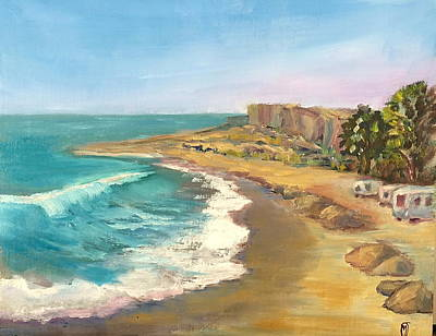 San Clemente Painting - Morning At Churchs by Marilyn Froggatt