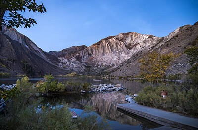 Photograph - Morning At Convict Lake by Cat Connor