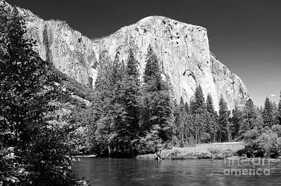 Photograph - Morning At El Capitan by Sandra Bronstein