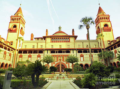 Photograph - Morning At Flagler College by D Hackett