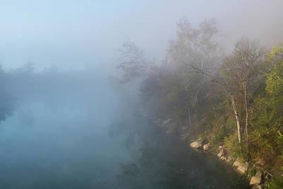 Photograph - Morning At Illinois River by Robert Potts