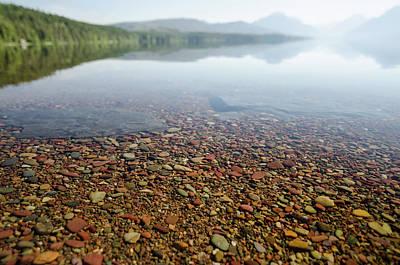 Photograph - Morning At Lake Mcdonald by Margaret Pitcher