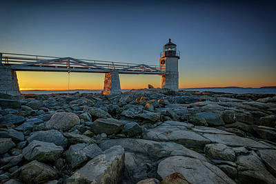 Saint George Photograph - Morning At Marshall Point by Rick Berk