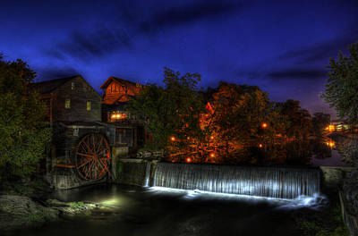 Stars Photograph - Morning At Old Mill by Greg and Chrystal Mimbs