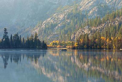 Photograph - Morning At Silver Lake by Jonathan Nguyen
