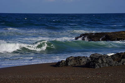 Photograph - Morning At The Beach by Adria Trail