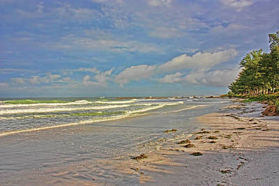Gulf Of Mexico Photograph - Morning At The Beach by HH Photography of Florida