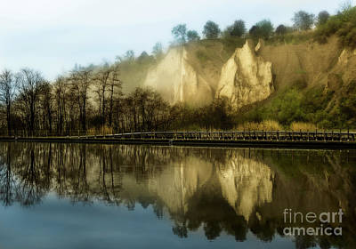 Morning At The Bluffs Art Print