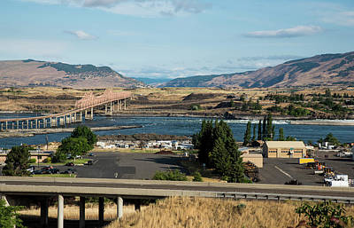 Photograph - Morning At The Dalles Bridge by Tom Cochran