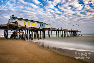 Photograph - Morning At The Pier by Anthony Heflin
