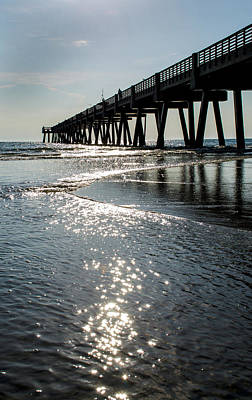 Photograph - Morning At The Pier by David Cabana