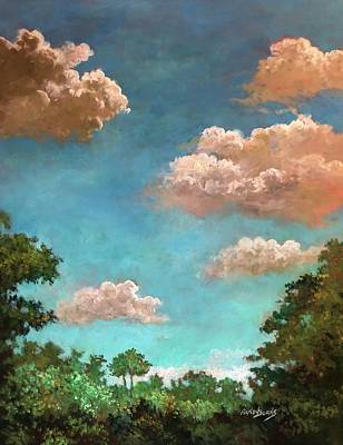 Painting - Morning Awakens by Randy Burns