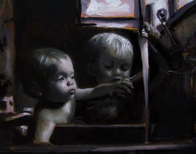 Painting - Morning Bath by Melissa Herrin