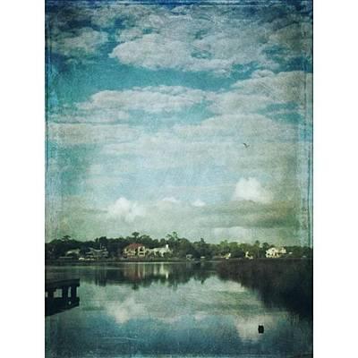 Morning Bayou Reflection #bayoulife Art Print