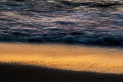 Photograph - Morning Beach Abstract  by Sven Brogren