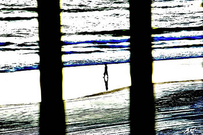 Photograph - Morning Beach Walk by Gina O'Brien