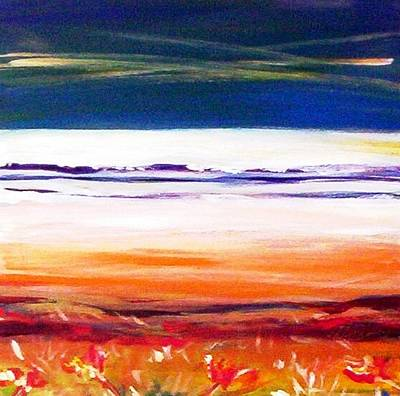 Painting - Morning Beach by Winsome Gunning
