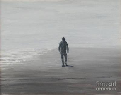 Isle Of Palms Painting - Morning Beachwalker by Thomas Michael Meddaugh