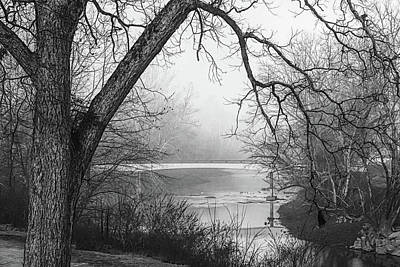 Photograph - Morning Beckons In Black And White by Debra and Dave Vanderlaan