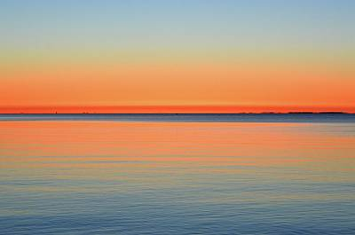 Photograph - Morning Blues And Orange Two  by Lyle Crump